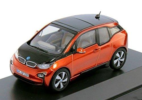BMW i3solaire orange échelle 1: 43