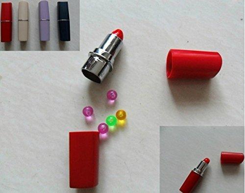 Lippenstift + Logstreifen Geo-Versand Geocaching Versteck Secret Hide - Storage Box - hint GPS Fake