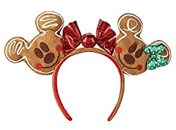 Mickey and Minnie Mouse Gingerbread House Disney World Ears from Amazon