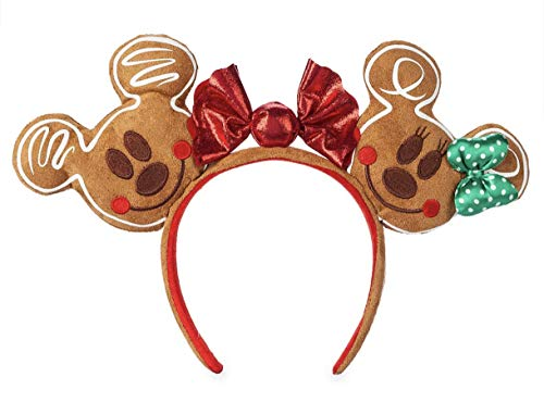 Mickey and Minnie Mouse Gingerbread Ears Headband