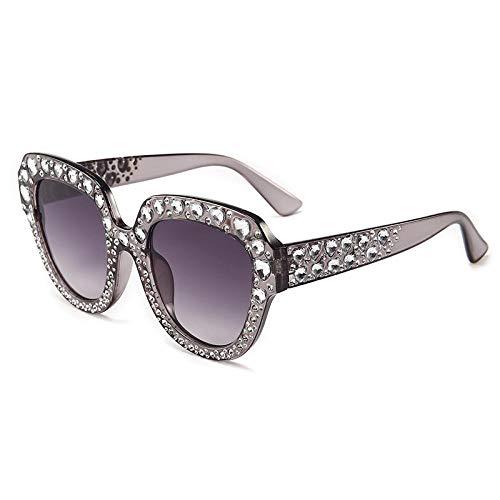 YANPAN Personalidad De La Moda Cuadrado Cristal Amor Gafas De Sol De...