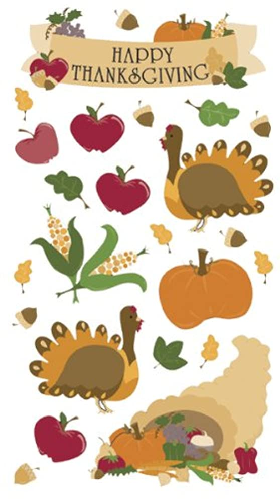 Sticko Harvest Stickers, Thanksgiving
