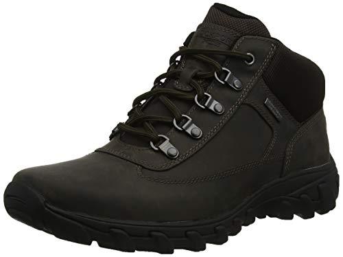 Rockport Herren Cold Springs Plus Chukka Combat Boots, Braun (Dark Brown 002), 44 EU