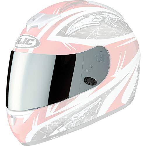 HJC HJ-09 RST Mirror Shield Motorcycle Helmet Accessories - Silver One Size AC-12, CL-15, CL-16,CL-17,CL-SP,CS-R1,CS-R2,FS-10, FS-15, IS-16, FG-15