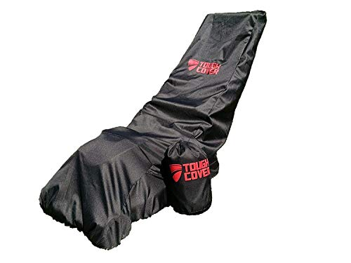 Tough Cover Premium Lawn Mower Cover. Heavy Duty 600D Marine Grade Fabric. Universal Fit. Weather,...