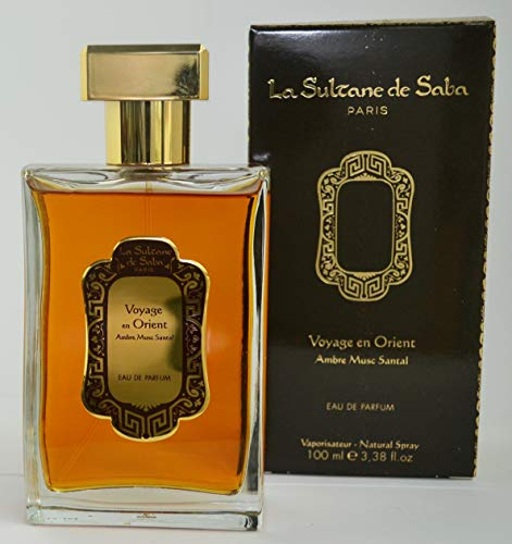 La Sultane de Saba,Eau de Parfum,Viaggio in Oriente, Ambra Muschio e Sandalo 100 ml