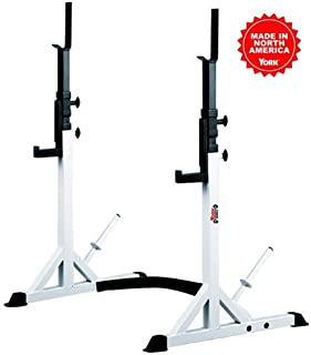 York Barbell FTS Press and Squat Stand