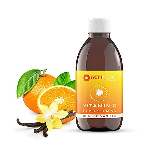 Vitamin C   Geschmack: Orange & Vanille   25 Tagesdosen à 1000 mg Vitamin C   Vegan   250 ml   Hochdosiert & laborgeprüft   24h-Versorgung   Wirksamer als Pulver & Serum   Liposomal   Made in Germany