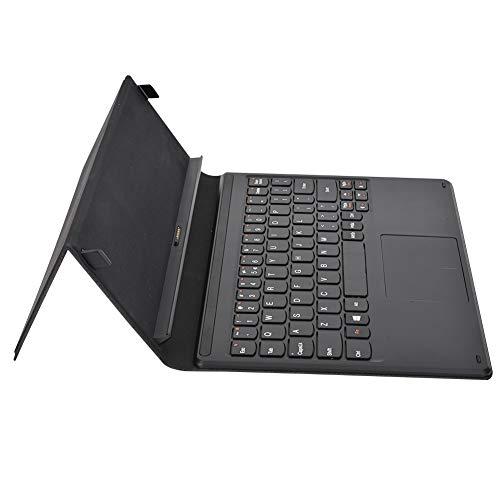 Teclado de Moda, Teclado Ultrafino, Comodidad de Escritura, Calidad de transmisión de Datos fluida, PU y Abs, Compatible con Lenovo Miix 3 1030, Tableta de 10,1 Pulgadas para tabletas