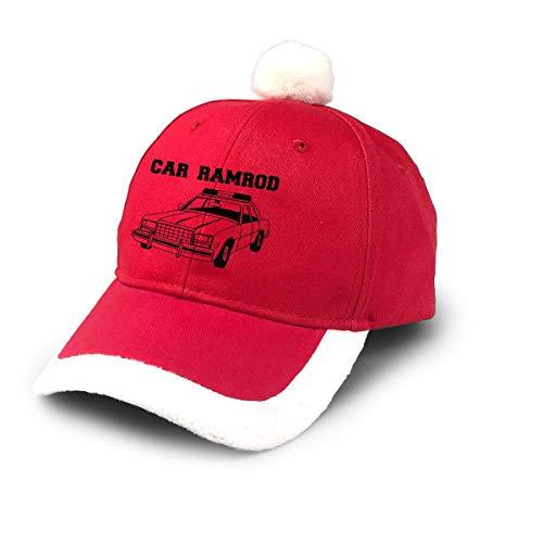 UKFaaa Baseballmütze, Weihnachtsmann-Baseballkappe, Auto-Ramrod, rot, Einheitsgröße