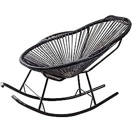 Chaises Longues de Patio Chaise inclinable inclinable en rotin pour Enfants Chaise Longue de Jardin inclinable pour…