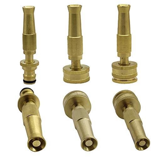 irriga Wasserpistole mit hohem Druck, Variabler Durchflussmenge, 16 mm, Nippelgelenk, 1,3 cm bis 1,9 cm Gewinde, Bewässerungsdüse