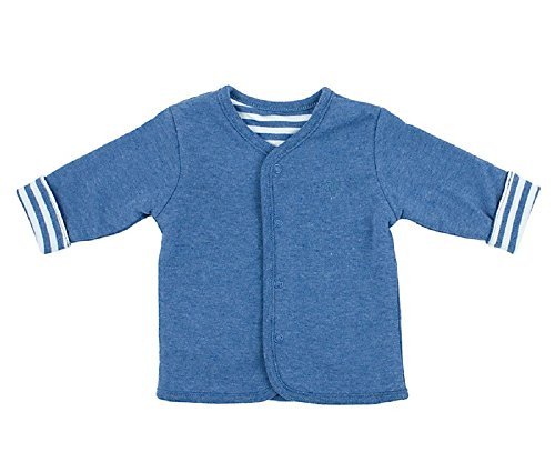 Feetje Unisex - Baby - Wendejacke Babykleidung 513.069 Jeansblau (980) Gr.56