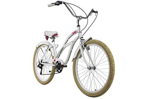 KS Cycling Beachcruiser 26'' Splash weiß RH 44 cm