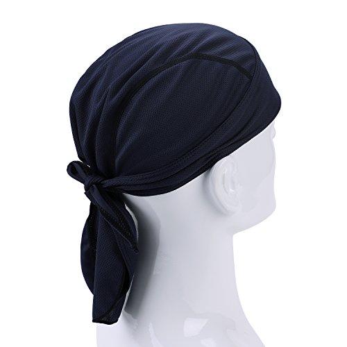 Bandana de ciclismo hombre mujer secado rápido transpirable sombrero pirata proteger la cabeza bufanda calota bajo el casco de verano gorro de bicicleta moto running