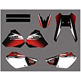 Resumen gráfico de Las Etiquetas engomadas Kit for Honda XR250 XR400 XR 400 250 1996 1997 1998 1999 2000 2001 2002 2003 2004 Motocross Pegatinas