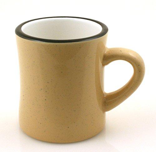 Marble Creek Ceramic Diner Campfire Mug, 10oz (Single) (Sand)