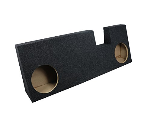 """Atrend Bbox A344-10CP Dual 10"""" Sealed Carpeted Subwoofer Enclosure - Fits 2015 - Up Ford F150 Extended Cab"""
