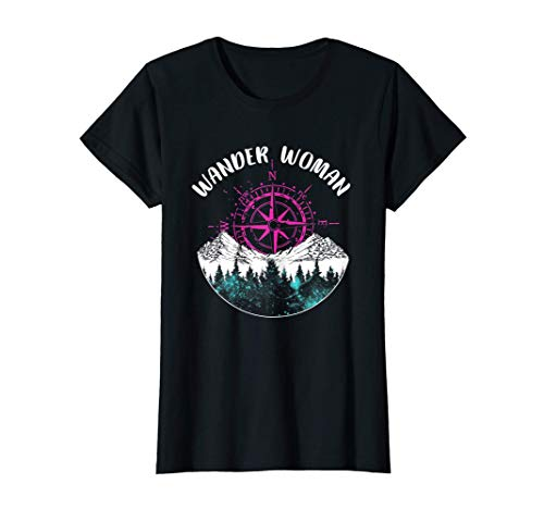 Wander Woman wanderer wandern Sport Bekleidung T-Shirt T-Shirt