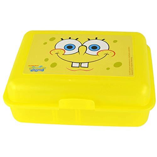 Spongebob Schwammkopf Brotdose, Gelb, one Size