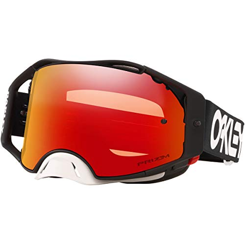 Oakley Airbrake MX Men's Off-Road Motorcycle Goggles - Factory Pilot Black/Prizm MX Torch/One Size