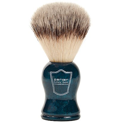 Parker Safety Razor Synthetic Bristle Shaving...