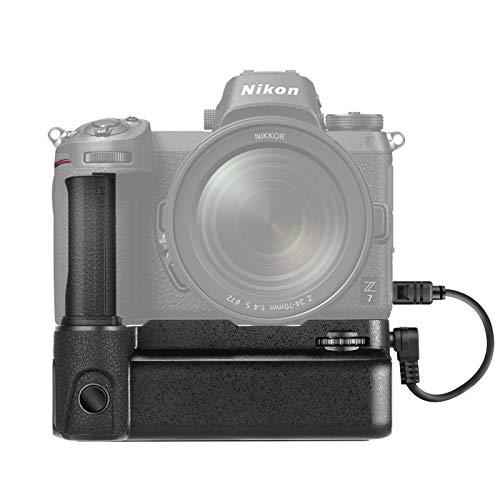 Neewer Empuñadura de Batería para Cámara Compatible con Cámara Nikon Z6 Z7, Admite Disparo Vertical, Funciona con 1 o 2 Baterías Recargables EN-EL15b / EL15 (Batería No Incluida)