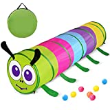 Product Image of the GeerWest Toddlers Tunnel for Kids, Pop Up Crawl Through Baby Tunnel Toy for...