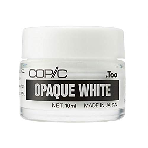 Copic Opaque White - 10ml (Green Tea Set)