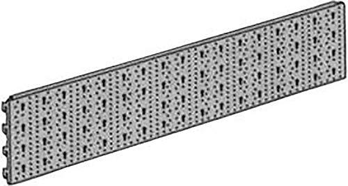 Element System 11400-00004 hometrainer-systeem-wand-stalen gatplaat 11400, 800x200, FE, wit (vergelijkbaar met RAL 9003), 2 stuks
