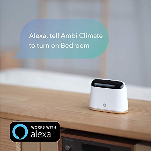 Ambi Climate 2 Smart Air Conditioner Controller - AI Powered, WiFi Enabled | Works with Alexa, Siri,...