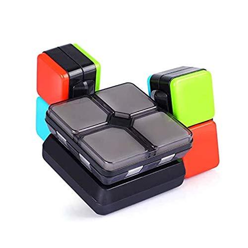 Rubik'S Cube Electronic Handheld Puzzle Game Rubik'S Cube Música Electrónica Novelty Puzzle Juego de Rompecabezas de 5 12 años
