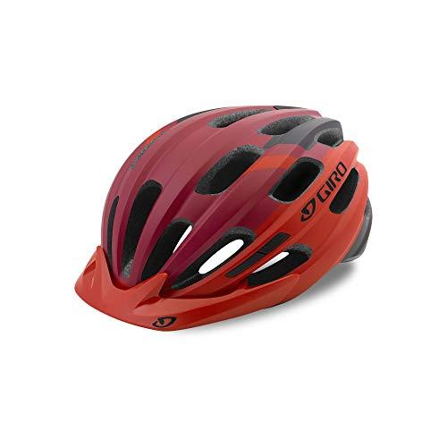 Giro Unisex– Erwachsene Register Fahrradhelm, Matte red, One sizesize