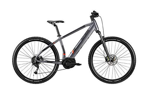 Atala - Bicicleta de montaña eléctrica EMTB Front Hardtail B-Cross A3.1, 9 V, motor AM80, color antracita/negro, tamaño 40 16 pulgadas (150 cm - 170 cm)