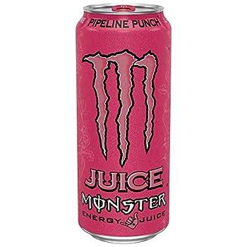 8 Pack - Monster Energy - Pipeline Punch - 16oz.