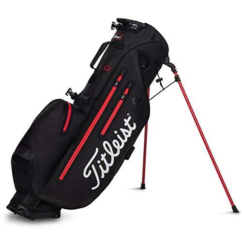 Titleist Players 4 StaDry Stand Golf Bag Black/Black/Red