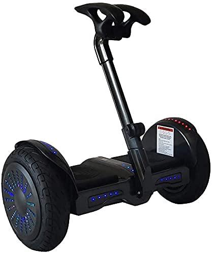 Scooter eléctrico inteligente de 10 pulgadas, gestión de Bluetooth, luces LED, modo deportivo y más fácil de montar, bueno para..