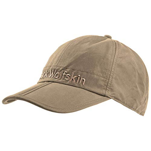 Jack Wolfskin Uni Huntington Cap Unisex-Baseball-mütze, Sand Dune, L