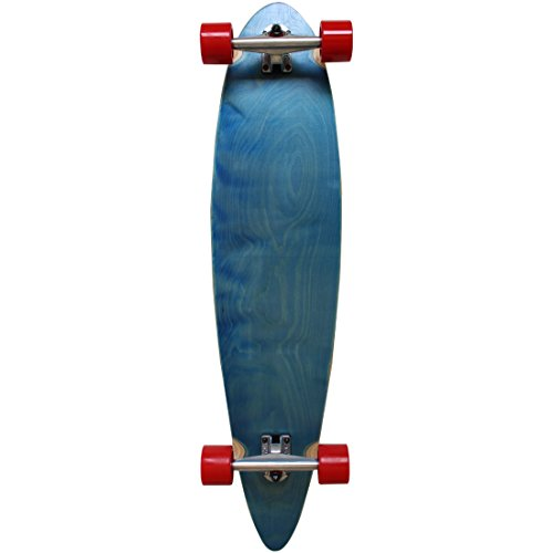 RIMABLE Stained Pintail Longboard BLUERED