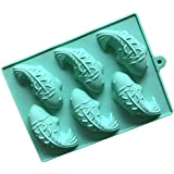 Busirde Fisch-Form-Silikon-Kuchen-Form-Praline-Fondant Dekorieren Backform Eiswürfel