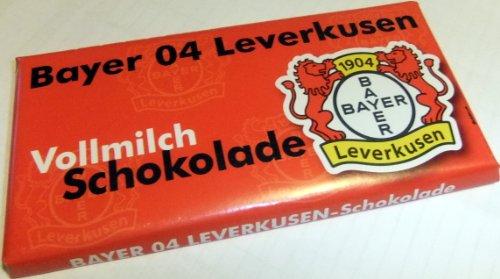 Bayer 04 Leverkusen Teamschokolade Schokolade
