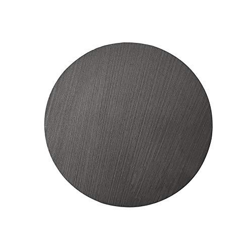 XMRISE Graphit Discs Runde Säulen Blöcke Slider Schweißstangen Metallschmelzgusskissen Dia.125mm x10mm