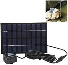 Mini Pompe fontaine solaire à eau 9V - 2W - Panneau solaire rectangle