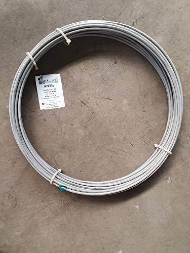 IPOS Erdungsband Edelstahl V4A Blitzschutz Rundleiter Ø 10mm, 25 kg / 40Meter