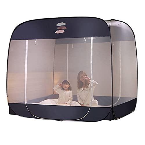 Mosquitera Cama Individual/Cama Doble Mosquitera, Mosquitera Que Acampa Portátil Al Aire Libre, Mosquitera Anticaída para Niños Y Adultos (Size : 1.2x1.95x1.65m)