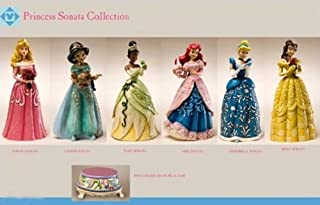 Jim Shore Disney Traditions - 6 Sonata Princesses and Musical Base