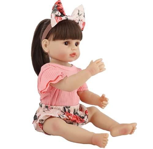 SWEGFDHNT MuñEca Reborn - 22 Inch 55 Cm MuñEca ReciéN Nacida - Suave Al Tacto MuñEca Renacimiento - Gift Set For Children
