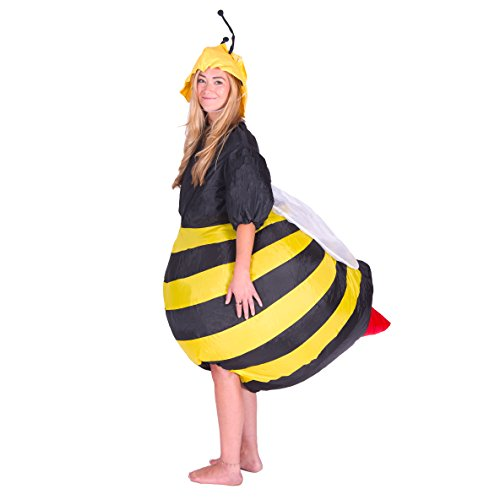 Bodysocks® Disfraz Hinchable de Abeja Adulto