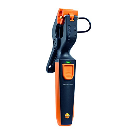 testo 115i I Pipe-clamp Thermometer for Heating and Cooling Systems I HVAC/R I with Bluetooth Support