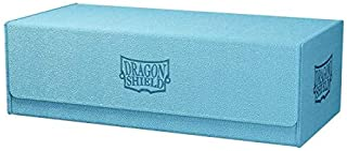 Dragon Shield Card Deck Box – Magic Carpet XL Blue/Black 1000CT – Durable and Sturdy TCG, OCG Card Storage – Compatible wi...